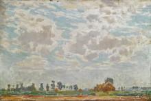 Облачность над бельгийской фермой - Клаус, Эмиль