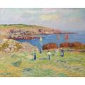Стога в порту Доэлан, 1908 - Море, Генри