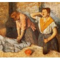 Гладильщицы, 1882 - Дега, Эдгар