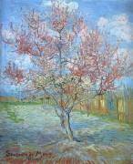 Персиковое дерево в цвету (Peach Tree in Bloom (in memory of Mauve), 1888 - Гог, Винсент ван