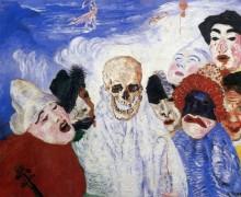Смерть и маски, 1897 - Энсор, Джеймс