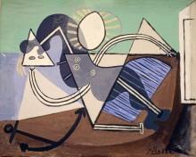 Женщина на пляже - Пикассо, Пабло