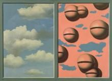 Драное небо, розовые колокола - Магритт, Рене