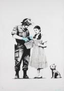 Полицейский обыск Дороти - Бэнкси