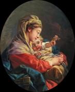 Мадонна с Младенцем - Буше, Франсуа