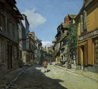 Улица Баволь, Онфлёр - Моне, Клод