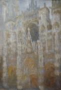 Кафедральный собор в Руане, утреннее солнце - Моне, Клод