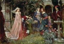 Волшебный сад - Уотерхаус, Джон Уильям