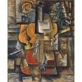 Скрипка и виноград - Пикассо, Пабло