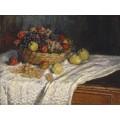 Яблоки и виноград - Моне, Клод