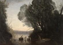Купание Дианы - Коро, Жан-Батист Камиль