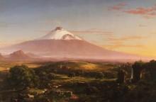 Пейзаж с вулканом Этна - Коул, Томас
