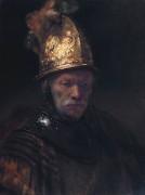 Мужчина в золотом шлеме - Рембрандт, Харменс ван Рейн