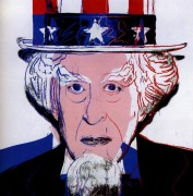 Дядюшка Сэм (Uncle Sam), 1981 - Уорхол, Энди