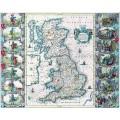 Старинная карта Англии
