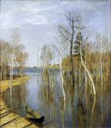 Весна. Большая вода. 1897 - Левитан, Исаак Ильич