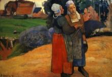 Бретонские крестьянки - Гоген, Поль