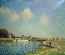 Река Луэн в Сен-Мамесе - Сислей, Альфред