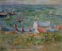 Порт в Жорее на острове Жерси - Моризо, Берта