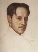Портрет Добужинского - Сомов, Константин Андреевич