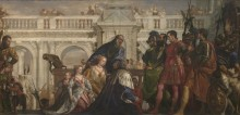 Семейство Дария перед Александром - Веронезе, Паоло (Калиари)