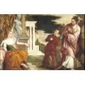 Юность между Пороком и Дободетелью, 1581 - Веронезе, Паоло (Калиари)