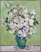 Ваза с розами (Vase with Roses), 1890 - Гог, Винсент ван