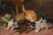 Четыре котенка и раки - Адам, Юлиус