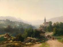 Тирольский пейзаж - Эндер, Томас