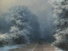 Зимний пейзаж - Айвазовский, Иван Константинович