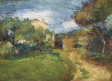 Корсиканский пейзаж - Матисс, Анри