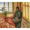 Меланхолия (Сестра художника Лаура) - Мунк, Эдвард