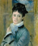 Камилла Моне, первая жена Клода Моне - Ренуар, Пьер Огюст