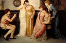 Юноша, говорящий с дамами - Соломон, Симеон
