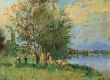 Фигуры на берегу реки - Лебург, Альберт