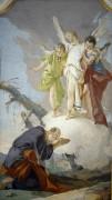 Явление Аврааму трех ангелов - Тьеполо, Джованни Баттиста