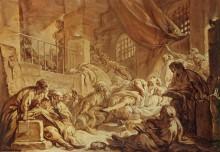 Смерть Сократа - Буше, Франсуа