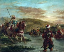 Военная кампания в Марокко - Делакруа, Эжен