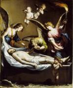 Мертвый Христос и оплакивающие ангелы - Кастильо, Антонио дель