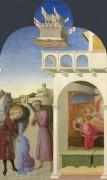 Святой Франциск, его видение и бедный рыцарь - Сассетта, Стефано ди Джованни