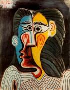 Лицо женщины, 1962 - Пикассо, Пабло