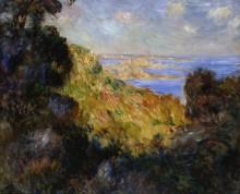Пейзаж с видом на Салернский залив - Ренуар, Пьер Огюст