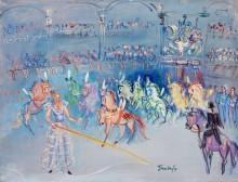 Цирковой номер с лошадьми - Дюфи, Жан