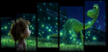 Встреча с динозавриком
