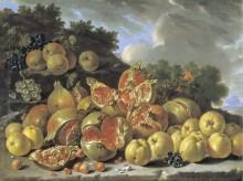 Пейзаж с фруктами, 1771 - Мелендес, Луис Эухенио