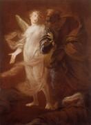 Святой Петр вышел из тюрьмы с помощью ангела - Риччи, Пьетро