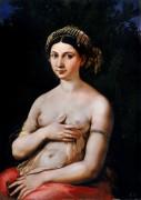 Портрет молодой женщины, или Форнарина. - Рафаэль, Санти