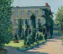 Дом доктора Хассон, Оффранвиль, Франция, 1893 -  Редфилд, Эдвард Уиллис