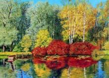 Осенний пруд - Жаньячик, Жан-Марк (20 век)