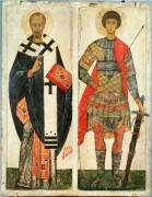 Святой Николай и Георгий Победоносец